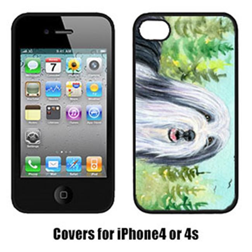 Carolines Treasures SS8880IP4 Bearded Collie Iphone 4 Cover