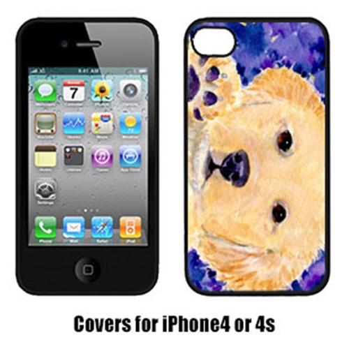 Carolines Treasures SS8903IP4 Golden Retriever Iphone 4 Cover