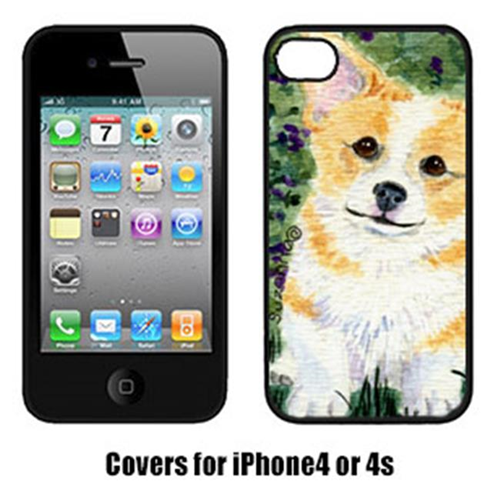 Carolines Treasures SS8854IP4 Corgi Cell Phone Cover Iphone4