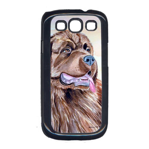 Carolines Treasures 7119GALAXYSIII Chocolate Brown Newfie Newfoundland Cell Phone Cover Galaxy S111