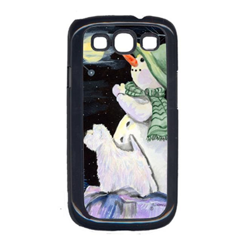 Carolines Treasures SS8797GALAXYSIII Snowman With Westie Galaxy S111 Cell Phone Cover