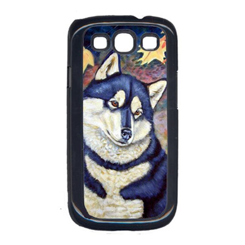 Carolines Treasures 7173GALAXYSIII Fall Leaves Siberian Husky Cell Phone Cover Galaxy S111