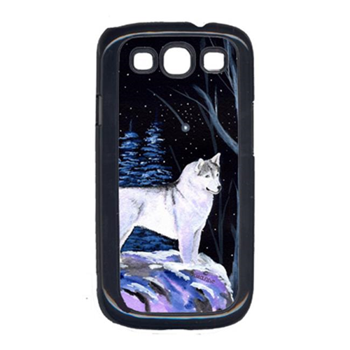 Carolines Treasures SS8400GALAXYSIII Starry Night Siberian Husky Cell Phone Cover Galaxy S111