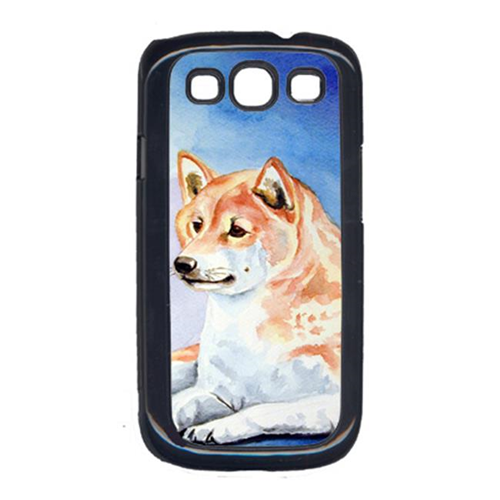 Carolines Treasures 7135GALAXYSIII Red And White Shiba Inu Cell Phone Cover Galaxy S111