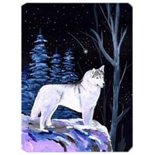 Carolines Treasures SS8400MP Starry Night Siberian Husky Mouse Pad