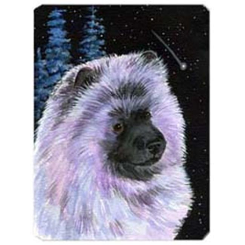 Carolines Treasures SS8412MP Starry Night Keeshond Mouse Pad