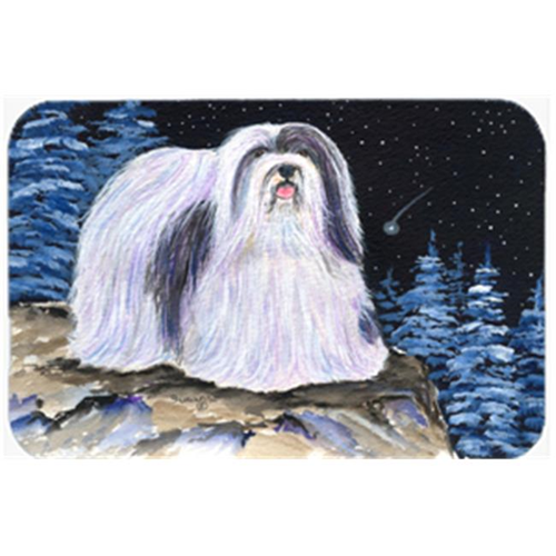 Carolines Treasures SS8450MP Starry Night Havanese Mouse Pad