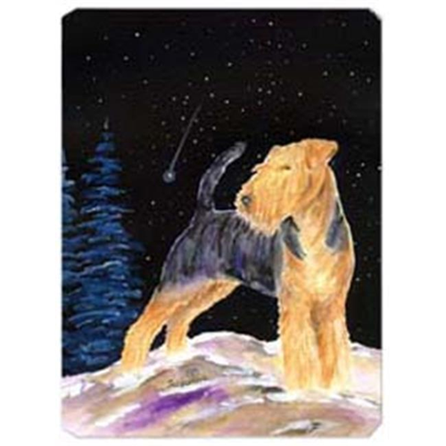 Carolines Treasures SS8464MP Starry Night Welsh Terrier Mouse Pad