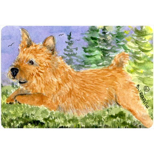 Carolines Treasures SS8910MP Norwich Terrier Mouse pad hot pad or trivet