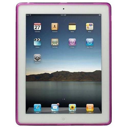 Qmadix 205474 Qmadix Flex Gel Case for Apple iPad 2 Purple