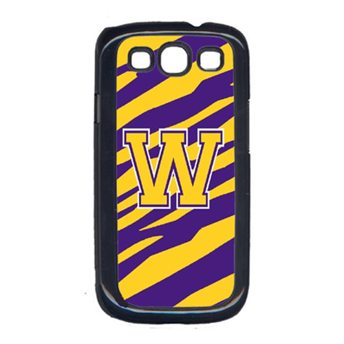 Carolines Treasures cover for Samsung Galaxy S111; Samsung Galaxys3 - Purple; Gold