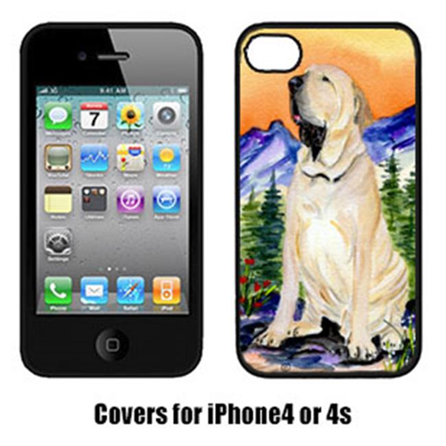 Carolines Treasures SS8169IP4 Brazilian Mastiff & Fila Brasileiro Cell Phone Cover Iphone4
