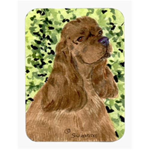 Carolines Treasures SS8807MP Cocker Spaniel Mouse Pad & Hot Pad Or Trivet