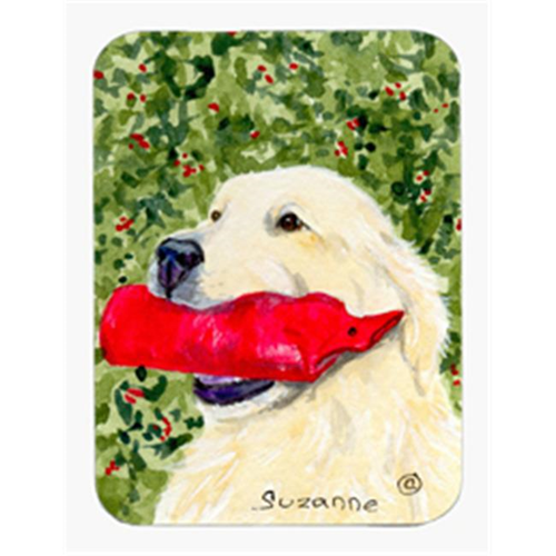 Carolines Treasures SS8813MP Golden Retriever Mouse Pad & Hot Pad Or Trivet