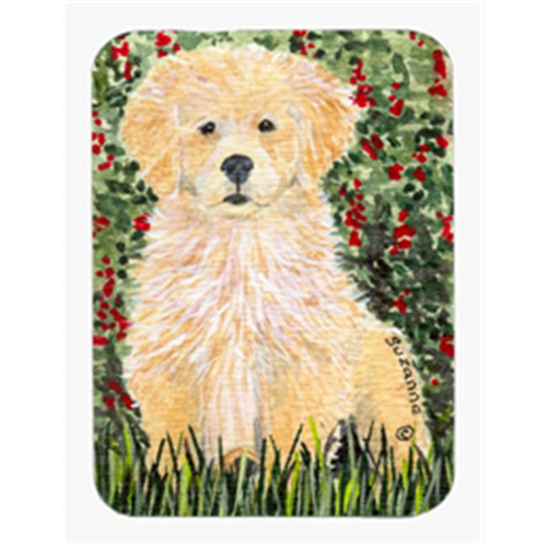 Carolines Treasures SS8857MP Golden Retriever Mouse Pad & Hot Pad Or Trivet
