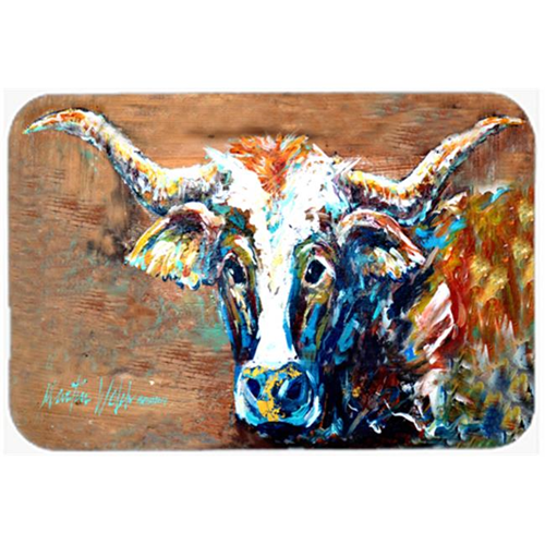 Carolines Treasures MW1165MP On the Loose Brown Cow Mouse Pad Hot Pad or Trivet