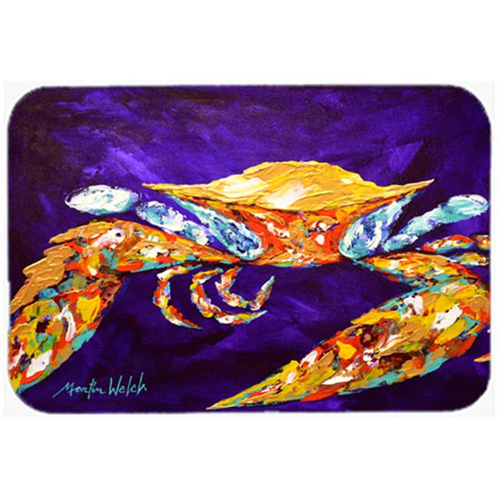 Carolines Treasures MW1172MP The Right Stuff Crab in Purple Mouse Pad Hot Pad or Trivet