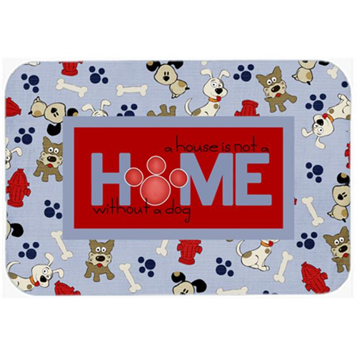Carolines Treasures SB3052MP 7.75 x 9.25 In. A House Is Not A Home Without A Dog Mouse Pad Hot Pad Or Trivet