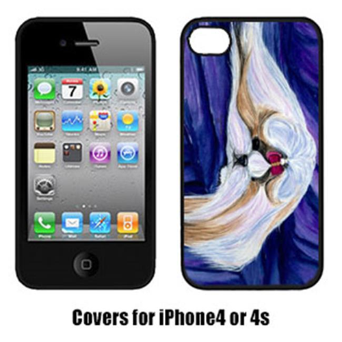 Carolines Treasures SS8605IP4 Shih Tzu Iphone4 Cover