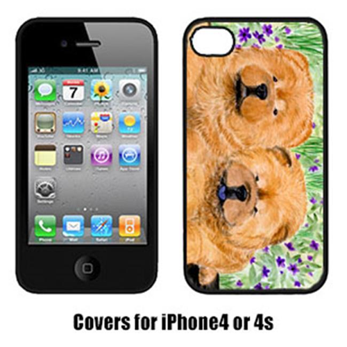 Carolines Treasures SS8123IP4 Chow Chow Iphone 4 Cover