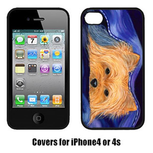 Carolines Treasures SS8136IP4 Yorkie Cell Phone cover IPhone 4
