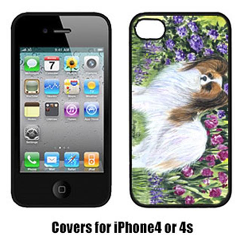 Carolines Treasures SS8153IP4 Papillon Cell Phone cover IPhone 4