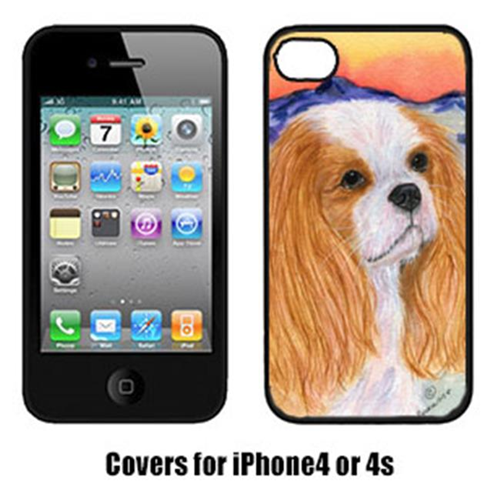 Carolines Treasures SS8164IP4 Cavalier Spaniel Cell Phone cover IPhone 4