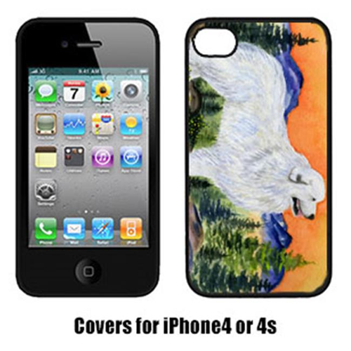 Carolines Treasures SS8183IP4 Great Pyrenees Cell Phone cover IPhone 4