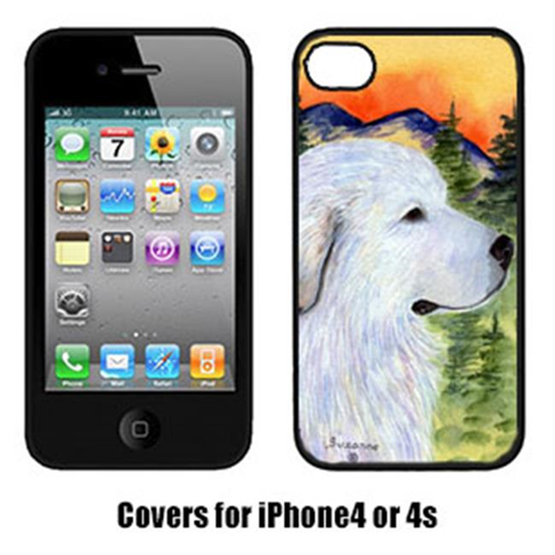 Carolines Treasures SS8236IP4 Great Pyrenees Cell Phone cover Iphone 4