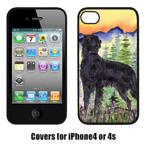 Carolines Treasures SS8263IP4 Flat Coated Retriever Cell Phone cover IPhone 4