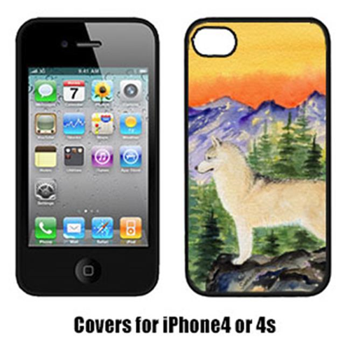Carolines Treasures SS8285IP4 Siberian Husky Cell Phone cover IPhone 4