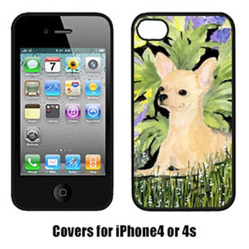 Carolines Treasures SS8325IP4 Chihuahua Cell Phone cover IPhone 4