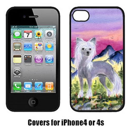 Carolines Treasures SS8326IP4 Chinese Crested Cell Phone cover IPhone 4