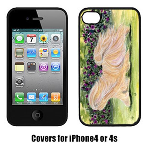 Carolines Treasures SS8328IP4 Lhasa Apso Cell Phone cover IPhone 4