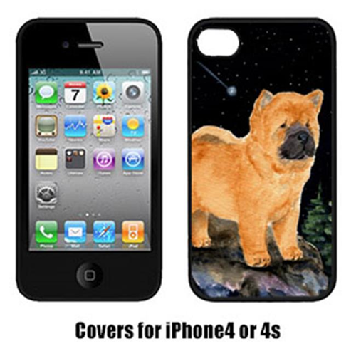 Carolines Treasures SS8488IP4 Starry Night Chow Chow Iphone4 Cover