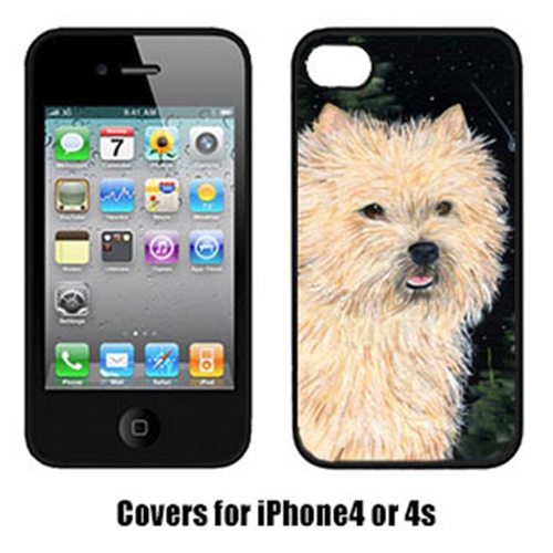 Carolines Treasures SS8502IP4 Starry Night Cairn Terrier Iphone4 Cover