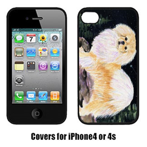 Carolines Treasures SS8504IP4 Starry Night Tibetan Spaniel Iphone4 Cover