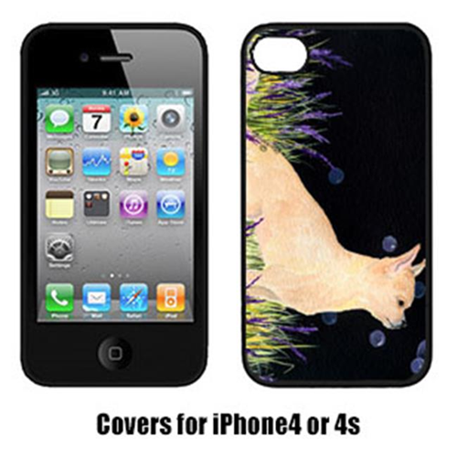 Carolines Treasures SS8515IP4 Starry Night Chihuahua Iphone4 Cover