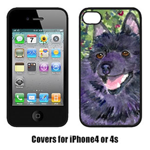 Carolines Treasures SS8822IP4 Schipperke Iphone 4 Cover