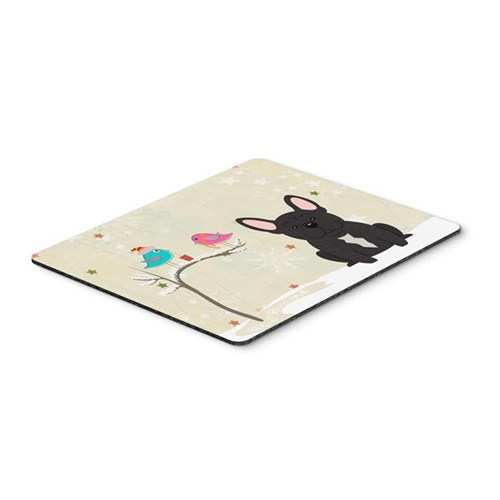 Carolines Treasures BB2481MP Christmas Presents Between Friends French Bulldog Brindle Mouse Pad Hot Pad or Trivet