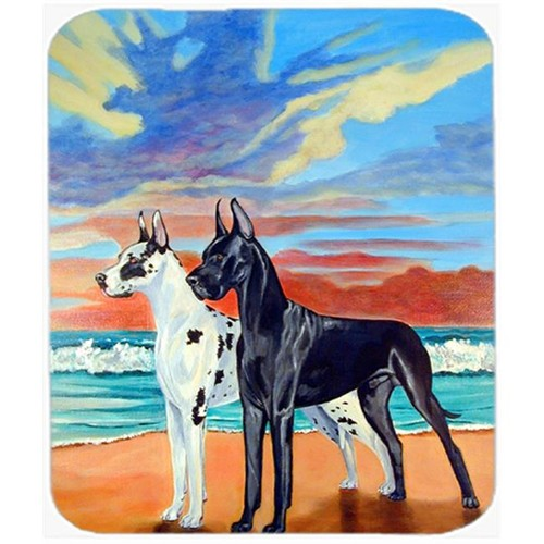 Carolines Treasures 7051MP 9.5 x 8 in. At Sunset Great Dane Mouse Pad Hot Pad or Trivet
