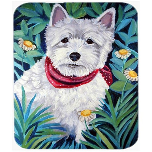 Carolines Treasures 7066MP 9.5 x 8 in. Westie Mouse Pad Hot Pad or Trivet