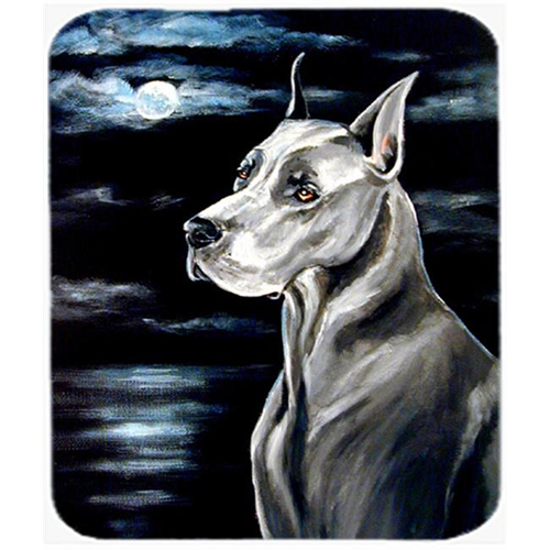 Carolines Treasures 7067MP 9.5 x 8 in. Great Dane in the Moonlight Mouse Pad Hot Pad or Trivet