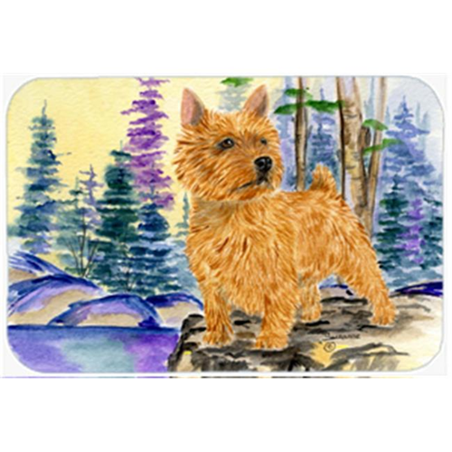 Carolines Treasures SS8011MP 8 x 9.5 in. Norwich Terrier Mouse Pad Hot Pad or Trivet