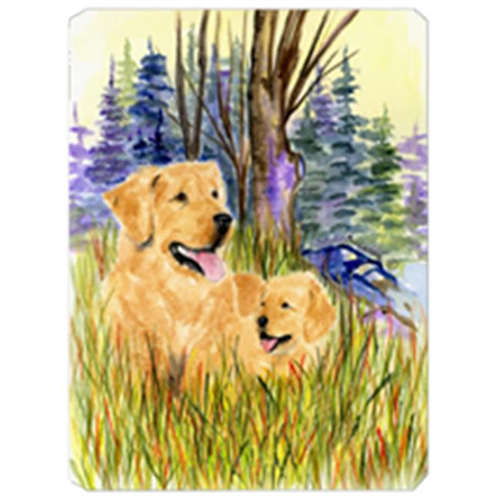 Carolines Treasures SS8014MP Golden Retriever Mouse Pad Hot Pad & Trivet