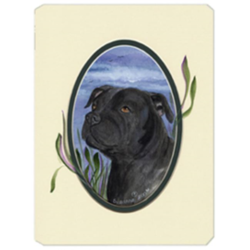 Carolines Treasures SS8017MP Staffie Mouse Pad Hot Pad & Trivet