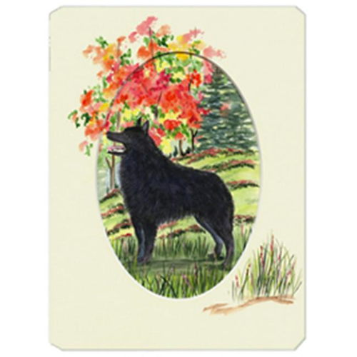 Carolines Treasures SS8058MP Schipperke Mouse Pad Hot Pad & Trivet