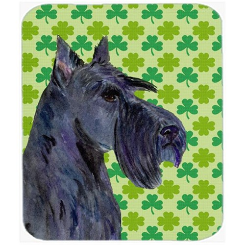 Carolines Treasures SS4460MP Scottish Terrier St. Patricks Day Shamrock Mouse Pad Hot Pad Or Trivet