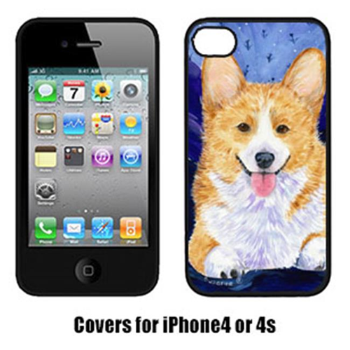 Carolines Treasures SS8414IP4 Corgi Cell Phone Cover Iphone4