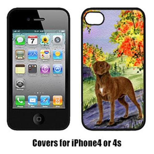 Carolines Treasures SS8427IP4 Chesapeake Bay Retriever Cell Phone Cover Iphone 4